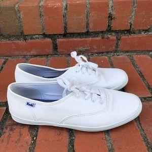 Keds Leather Sneakers Size 8